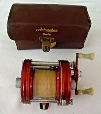 Vintage ABU Ambassadeur No 5000  with Leather Case Made in Sweden