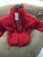 Mens Medium Canada Goose Skreslet Parka Jacket Red