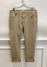 7 Seven For All Mankind Distressed Relaxed Skinny Jeans Buff 31 NWT