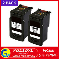 2 PK PG-210XL Black Ink for Canon PIXMA MP495 MX320 MX340 MP240 MP250 MP280