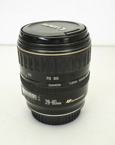 Canon EF lens 28-80mm (but 35-80) metal mount & Ultrasonic, very good cond.