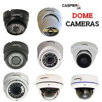 CASPERi Indoor HD CCTV Multiple Dome Cameras 1.3MP, 2.0MP, 4.0MP, AHD & IP Cams