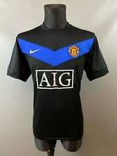 MANCHESTER UNITED 2009/2010 AWAY SOCCER FOOTBALL JERSEY SHIRT NIKE ADULT SIZE L