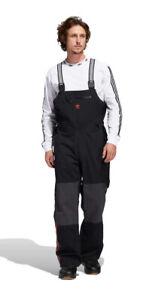 ADIDAS Mens 3L Bib Skiing Snowboarding Snow Ski Pants Black $280 NWT LARGE 2XL