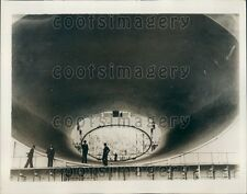1935 Air Tunnel For Airplane Testing Chalais Meuden France Press Photo