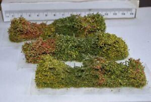 Model Hedge sets Bocage basing scenery miniatures wargames railway