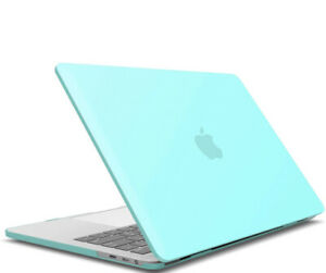 IBENZER HARD MACBOOK CASE, TEAL IN COLOR, NEW