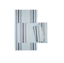 Martha Stewart Collection Home Decor Benton PLACE MAT SET OF 4 -13X19 Blue
