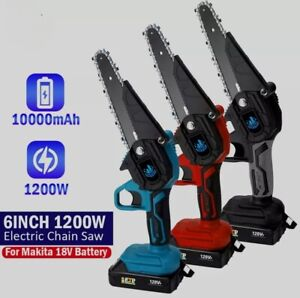 New 1200W 6 Inch Power Electric Chainsaw Mini Portable Chainsaw For Makita