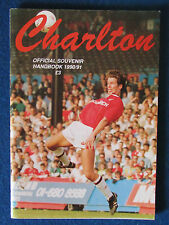 Charlton Athletic Handbook 1990/91