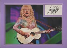 Dolly Parton. Authentic autograph. Signature tribute 9 to 5. Coat of Many Colors