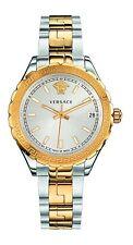 Versace Women's V12030015 HELLENYIUM Luminous Two-Tone Steel Date Wristwatch