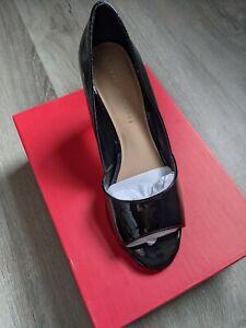 Women's Black High Heels Size 8