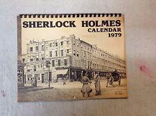 Sherlock Holmes 1979 Calendar Doubleday Phillip C Thompson Watson 221B Baker BNT