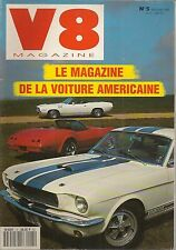 V8 MAGAZINE 5 MUSTANG SHELBY GT350 STING RAY 454ci PLYMOUTH HEMICUDA COUGAR 73