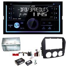 JVC KW-DB93BT Digitalradio Bluetooth USB CD AUX Einbauset für Mazda MX-5 NC