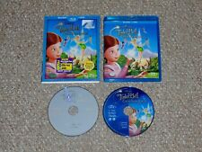 Disney Tinker Bell and the Great Fairy Rescue Blu-ray/DVD Combo with Slip Cover