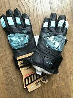 POW GORE-TEX  leather Womens snowboard ski gloves Small OR Medium  Burton Volcom