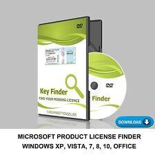 KEY Finder-Windows 7 8 10 XP chiave di licenza Adesivo licenza