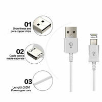 3 Meter Extra Long Micro USB Charger Cable For Xbox One 1 Controller Data Lead