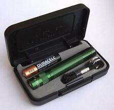 Maglite Solitaire Torch green Nr. K3A392, small Mag-Lite 8 cm long