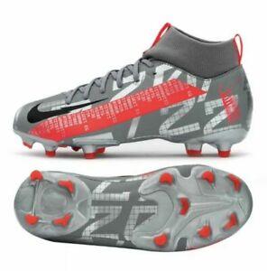 Nike Jr. Mercurial Superfly 7 Academy FG/MG Football Soccer Cleats AT8120-906 4