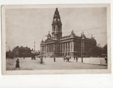 Portsmouth Town Hall Vintage Postcard 381a