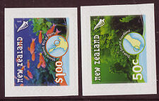 NEW ZEALAND 2008 UNDERWATER REEFS SET OF 2 COIL STAMPS UNMOUNTED MINT, MNH