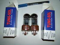 Röhren 6SN7 GTB Tungsol , super 6SN7, neu gem.Paar f. chin./US-Vers