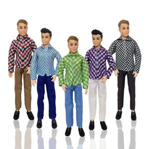 Prince Barbie Ken Dolls Clothes Suit Outfit For Barbie Boy KEN Dolls Accessories