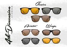 Korda Polarisationsbrille Wraps oliv/gelb 4th Dimension Sonnenbrille
