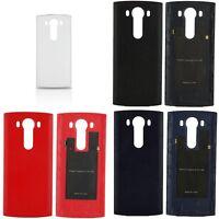 New Leather OEM Original Genuine LG V10 NFC Battery Back Door Cover Case