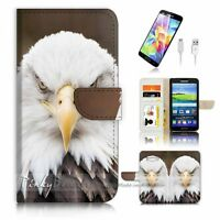 ( For Samsung Grand Prime ) Wallet Case Cover P1821 Eagle