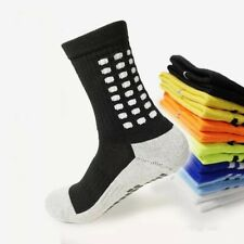 Black Football Grip Non Slip Socks Like Trusox