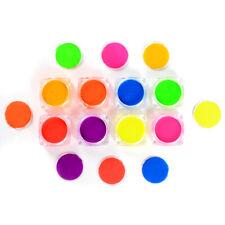 8 Boxes Neon Phosphor Nail Pigment Powder Glitter Manicure Nail Art Decor Tips
