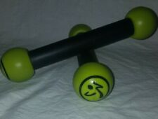 Zumba Fitness Toning Sticks Set of 2 Shaker Workout Weights 1 lb ea Zumba Sticks