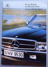 V10980 MERCEDES R107 SL - 300SL 420SL 500SL