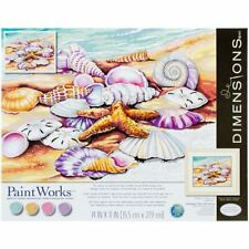 """Paint Works Paint By Number Kit 11""""X14""""-Shells -91526"""
