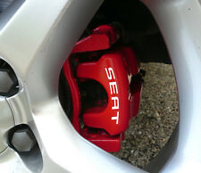 SEAT Brake Caliper Calliper Decals Sticker Leon Arosa Cupra Ibiza ALL OPTIONS