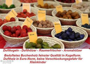 Ambientador Madera Aromática Duftkugeln Refrescador Habitaciones Aromahölzer