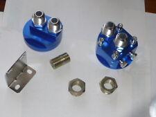 Remote Oil Filter Adaptor - JACKMASTER - AN10 Holden LS1 engine, 13/16 filter