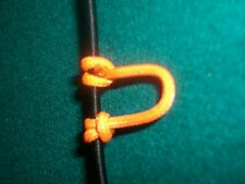 Sunset Orange Archery Release Bow String Nock D Loop Bowstring BCY #24