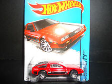 Hot Wheels DeLorean DMC 1981 Red 1/64