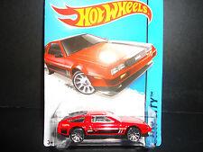 Hot Wheels DeLorean DMC 1981 Red 1/64