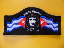 CHE GUEVARA toppa ricamata HASTA SIEMPRE patch CUBA broderie embroidery CASTRO