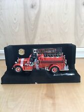 American Mint Mack 1935 Pumper Hanover Fire Dept No.1 Red Fire Truck Collectable