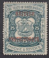 North Borneo 1901 - 25c Blue - SG139 - Mint Hinged (A5D)