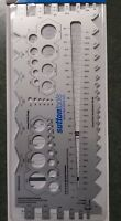 Sutton Gauge Metric Imperial For Drill Bits Wire Bolts Fine and Coarse Free Post