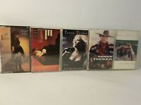 3 Tanya Tucker and 2 Suzy Bogguss cassette tapes.  Good condition.