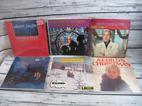 Lot of 6 Christmas Vinyl Albums LP VG+ Holiday 6
